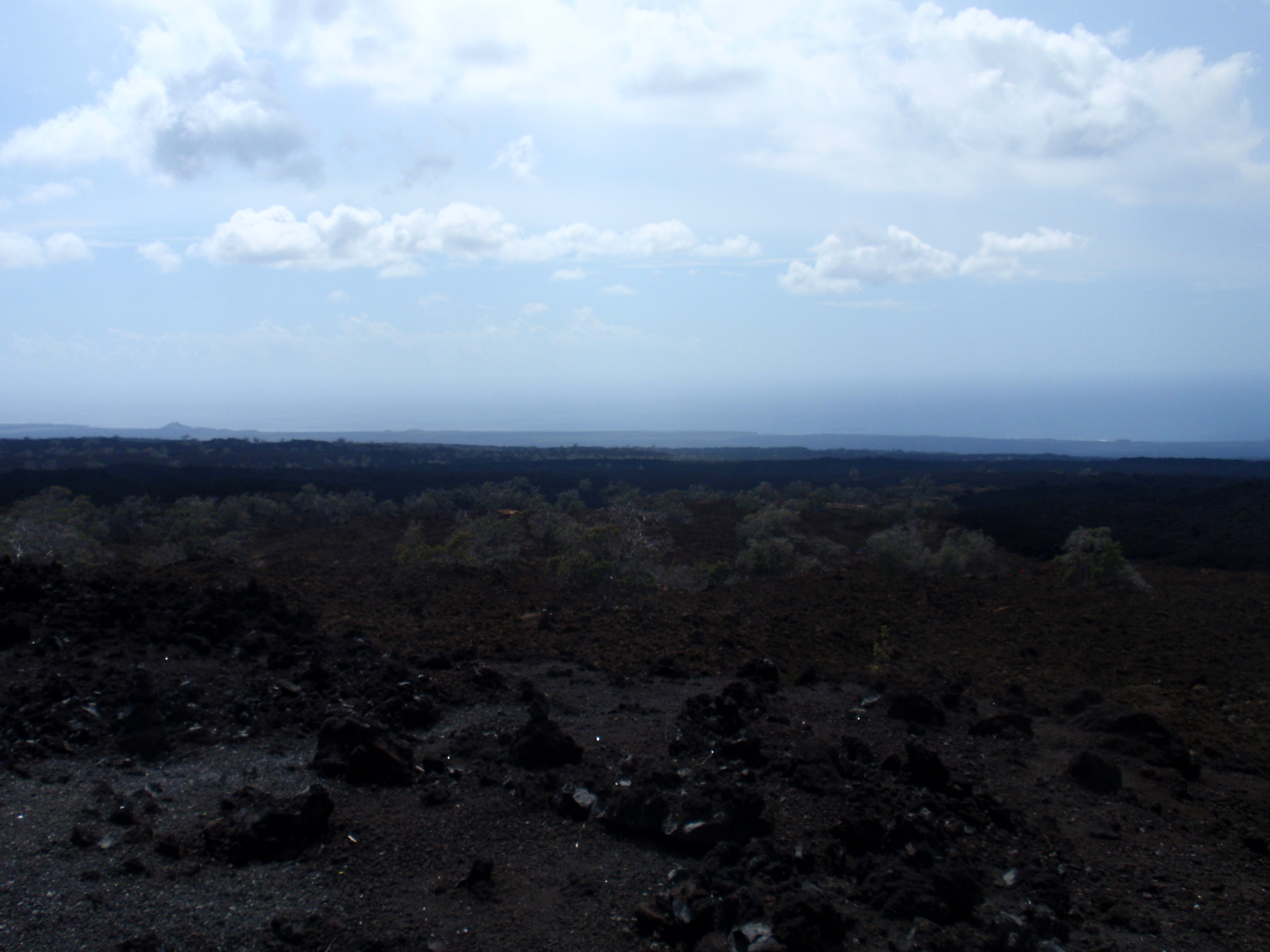 Barren shore near Kona