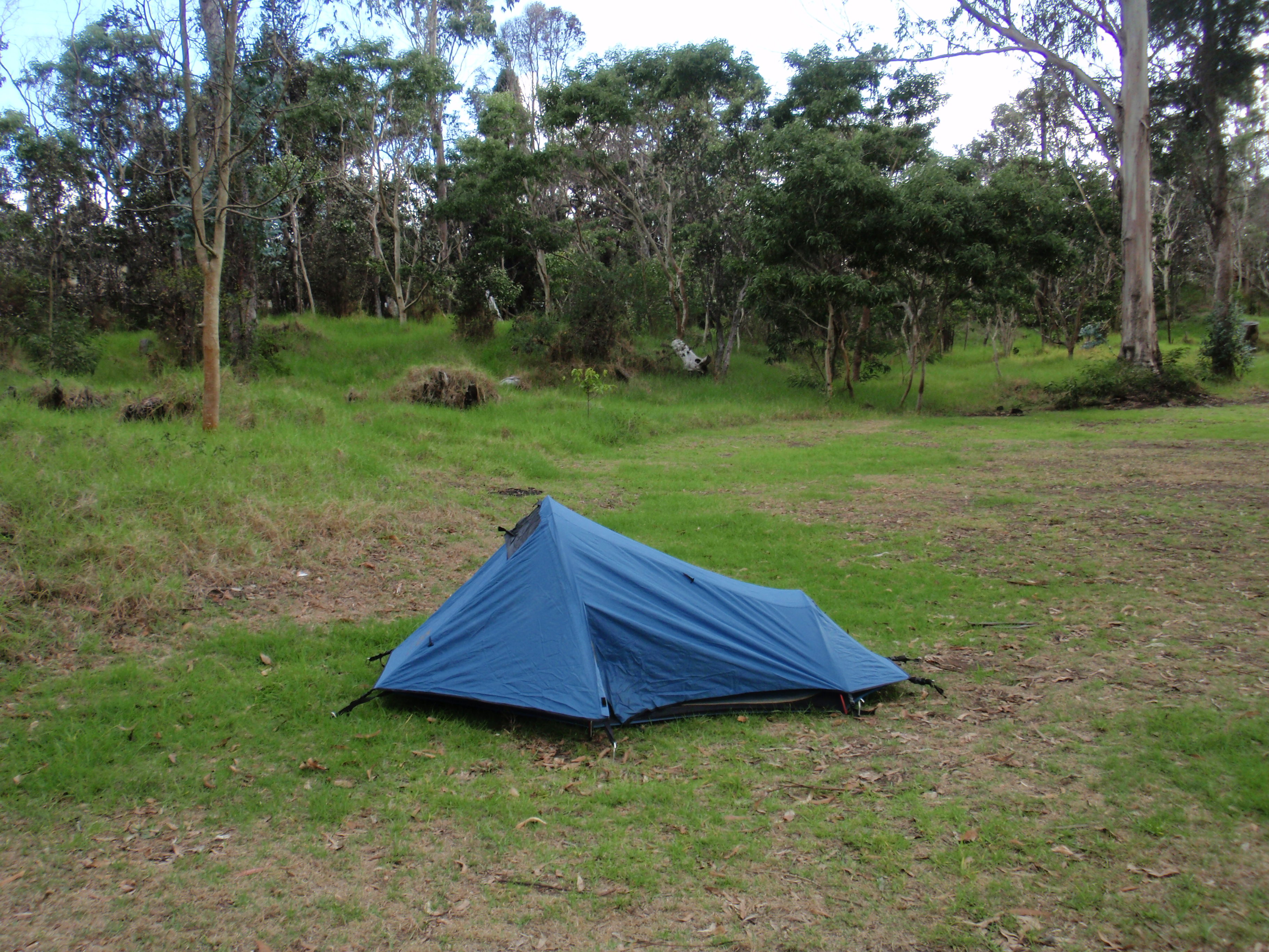 Camped at Volanoes NP